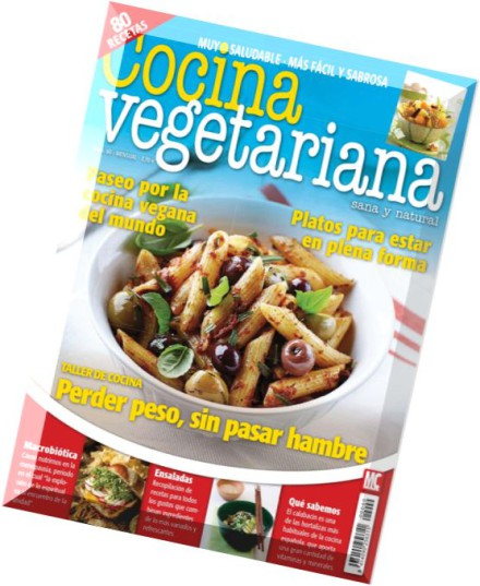 Download cocina vegetariana junio 2015 pdf magazine for Cocina vegetariana