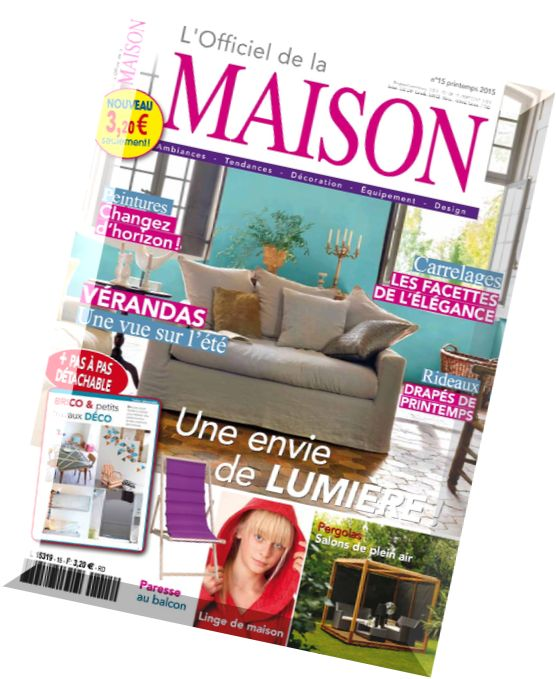 Download l officiel de la maison n 15 printemps 2015 pdf magazine - L officiel de la maison ...