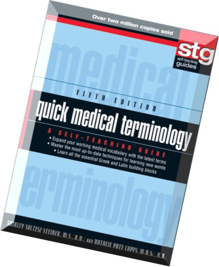 quick medical terminology a self teaching guide 5th edition pdf
