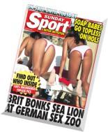 Sunday Sport - 2 December 2012