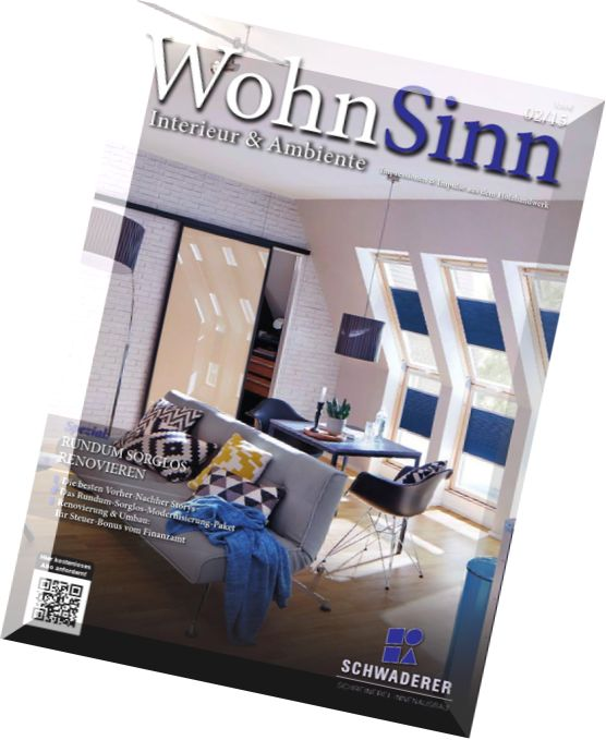 download wohn sinn magazin n 02 2015 pdf magazine. Black Bedroom Furniture Sets. Home Design Ideas