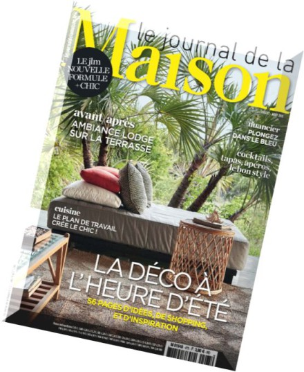download le journal de la maison n 475 juillet 2015 pdf magazine. Black Bedroom Furniture Sets. Home Design Ideas