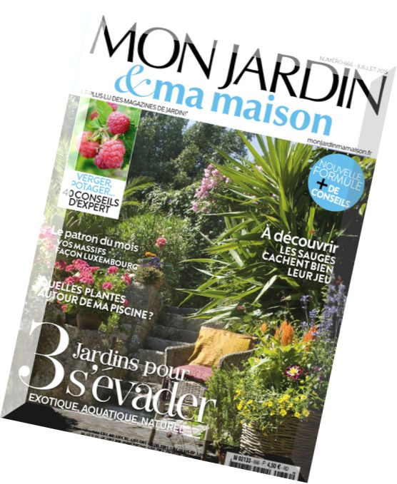 download mon jardin ma maison n 666 juillet 2015 pdf magazine. Black Bedroom Furniture Sets. Home Design Ideas