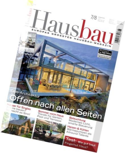 download hausbau magazin juli august 2015 pdf magazine. Black Bedroom Furniture Sets. Home Design Ideas
