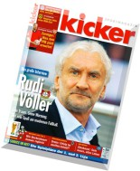 Kicker Sportmagazin - 54-2015 (29.06.2015)