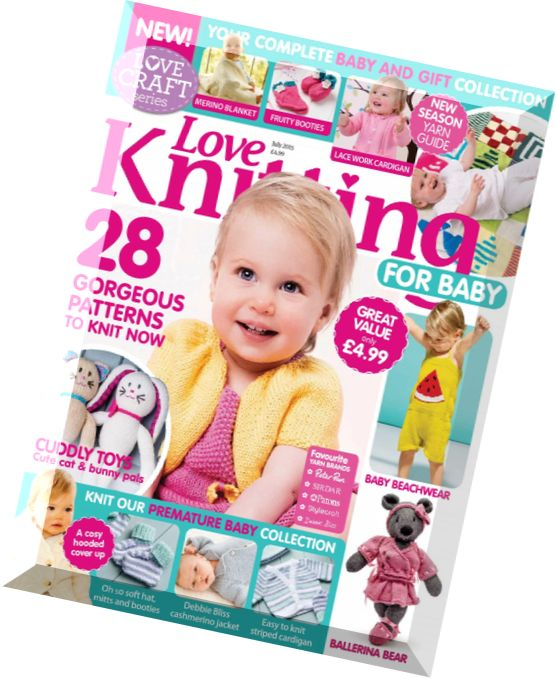 Knitting For Babies Magazine : Download love knitting for babies july pdf magazine