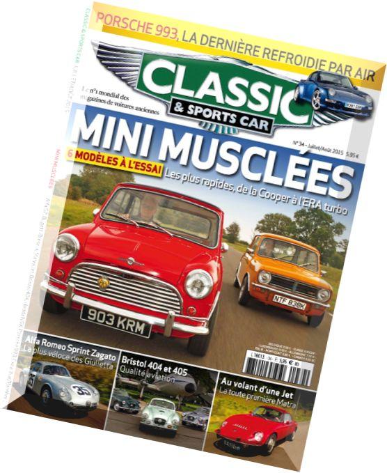 download classic sports car france juillet 2015 pdf magazine. Black Bedroom Furniture Sets. Home Design Ideas
