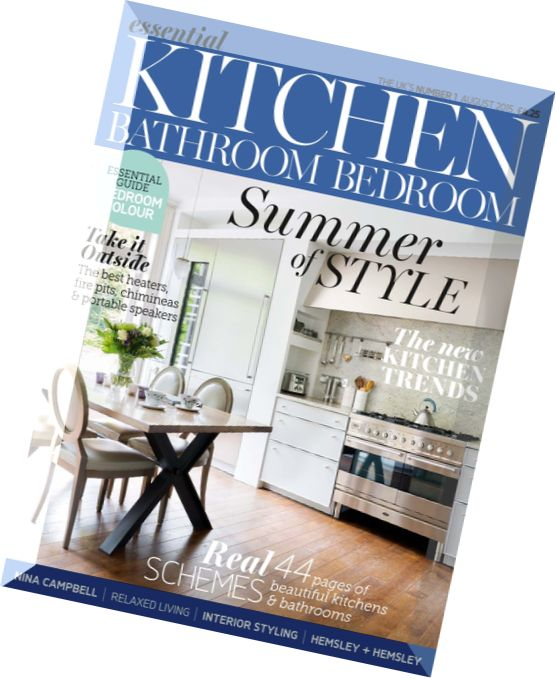 Download essential kitchen bathroom bedroom august 2015 pdf magazine for Essential kitchens and bathrooms
