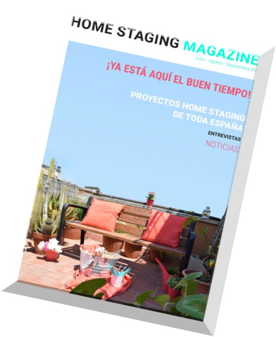 download home staging julio agosto septiembre 2015 pdf magazine. Black Bedroom Furniture Sets. Home Design Ideas