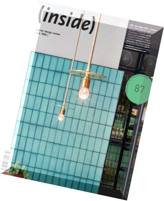 Download Inside Interior Design Review July August 2015 Pdf Magazine