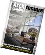 Architecture Durable N 22 - Juillet-Septembre 2015
