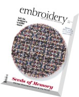 Embroidery - July-August 2015
