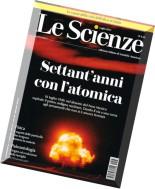 Le Scienze N 563 - Luglio 2015