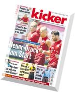 Kicker Sportmagazin - Nr.55, 2 Juli 2015