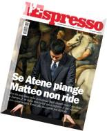 L'Espresso N 27 - 09.07.2015