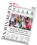 The Independent - 4 July 2015