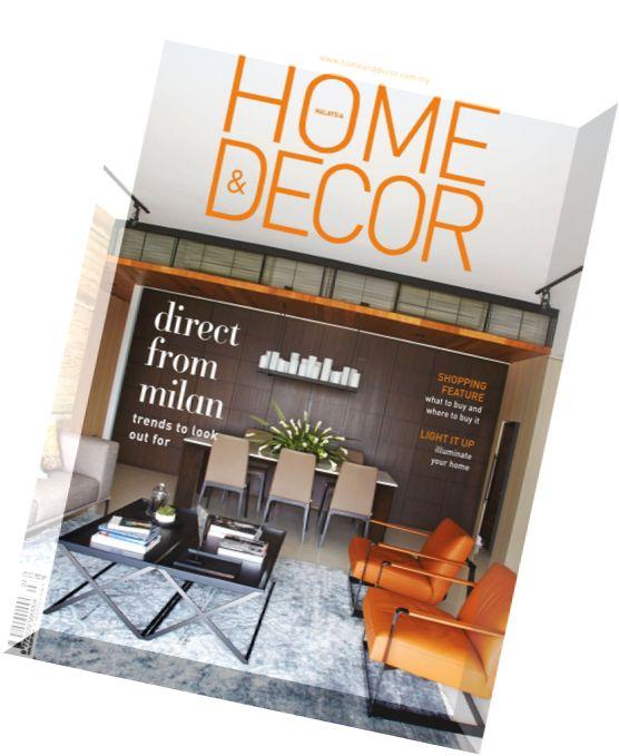 Download Home Decor Malaysia July 2015 PDF Magazine