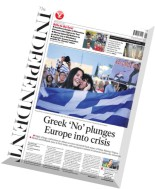 The Independent - 6 July 2015