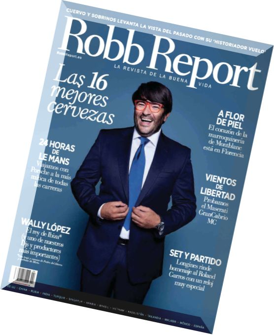 Robb Report - Passion Investments,Timepieces, Jewelry's Rising Stars - NOV 2017