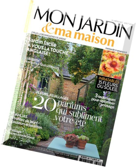 download mon jardin ma maison n 667 aout 2015 pdf magazine. Black Bedroom Furniture Sets. Home Design Ideas