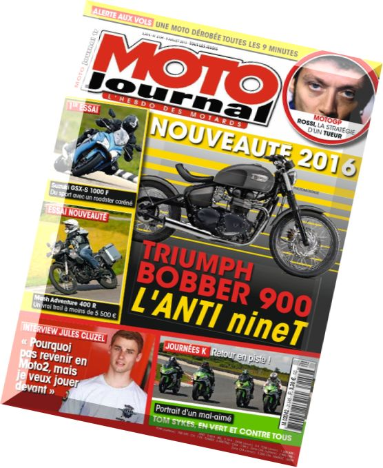 download moto journal 9 au 15 juillet 2015 pdf magazine. Black Bedroom Furniture Sets. Home Design Ideas
