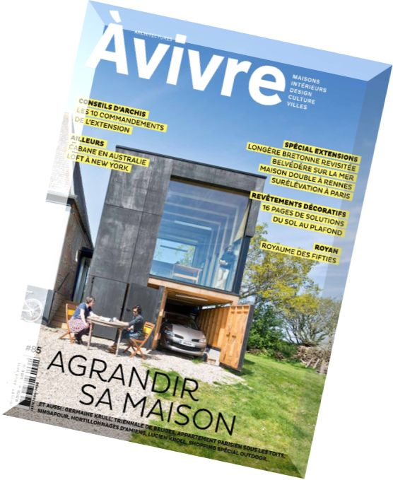 Download architectures a vivre n 85 juillet aout 2015 pdf magazine - Architectures a vivre ...