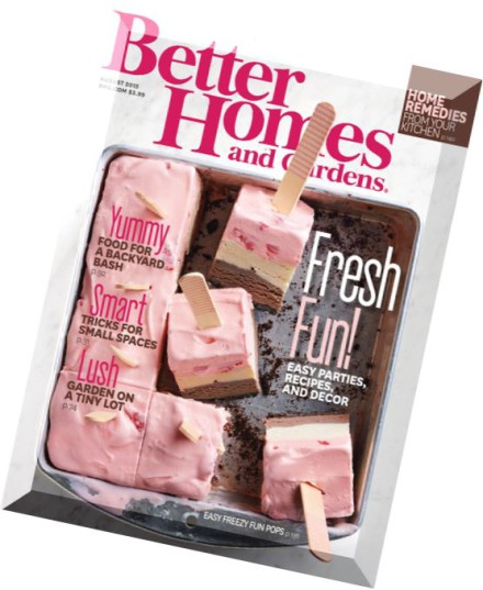 Download Better Homes And Gardens Usa August 2015 Pdf Magazine