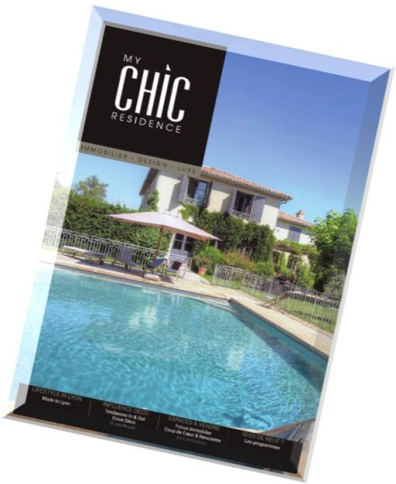download my chic residence juillet aout 2015 pdf magazine. Black Bedroom Furniture Sets. Home Design Ideas