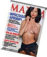Maxim Russia - February 2011