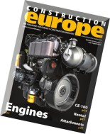 Construction Europe - July-August 2015