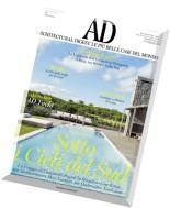 AD Architectural Digest Italia - Agosto 2015