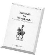 Zeitschrift fur Heereskunde - 1988-07-10 (338-339)