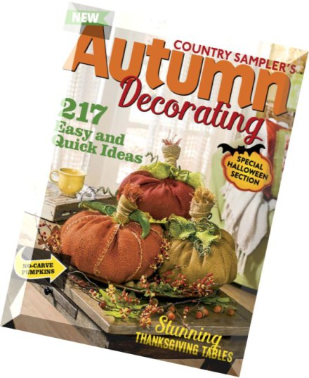 Magazine Country Decorating Ideas: Download Country Sampler's Autumn Decorating