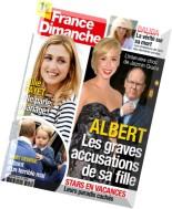 France Dimanche - 31 Juillet au 6 Aout 2015