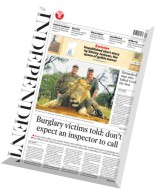 The Independent - 29 July 2015