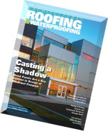 Architectural Roofing & Waterproofing - Fall 2014