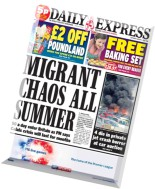 Daily Express - 1 August 2015