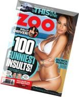 Zoo Weekly Australia - 10 August 2015