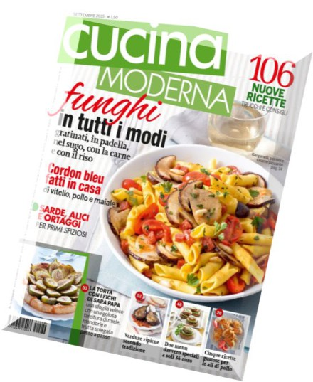Download cucina moderna settembre 2015 pdf magazine for Cucina moderna magazine