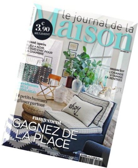 download le journal de la maison n 476 septembre 2015 pdf magazine. Black Bedroom Furniture Sets. Home Design Ideas