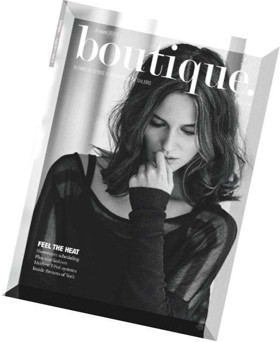 Boutique Magazine - August 2015