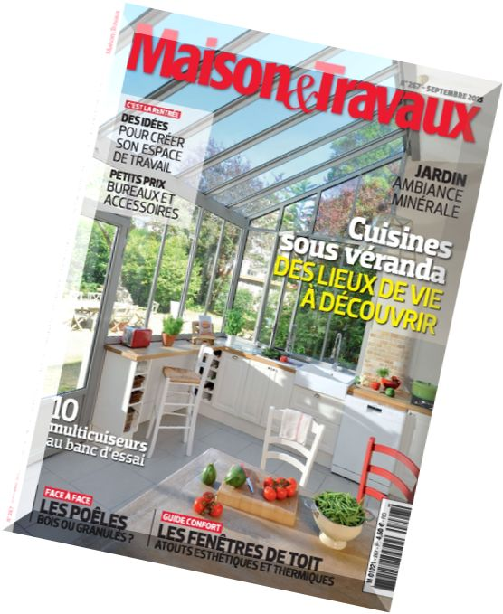 download maison travaux n 267 septembre 2015 pdf magazine. Black Bedroom Furniture Sets. Home Design Ideas