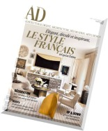 AD Architectural Digest France - Aout-Septembre 2015