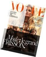 Vogue Paris - Septembre 2015