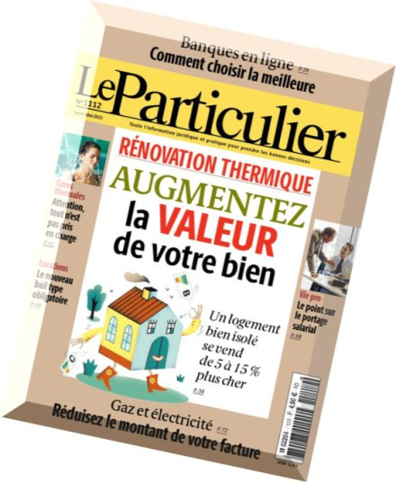 download le particulier septembre 2015 pdf magazine. Black Bedroom Furniture Sets. Home Design Ideas