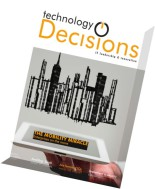 Technology Decisions - August 2015