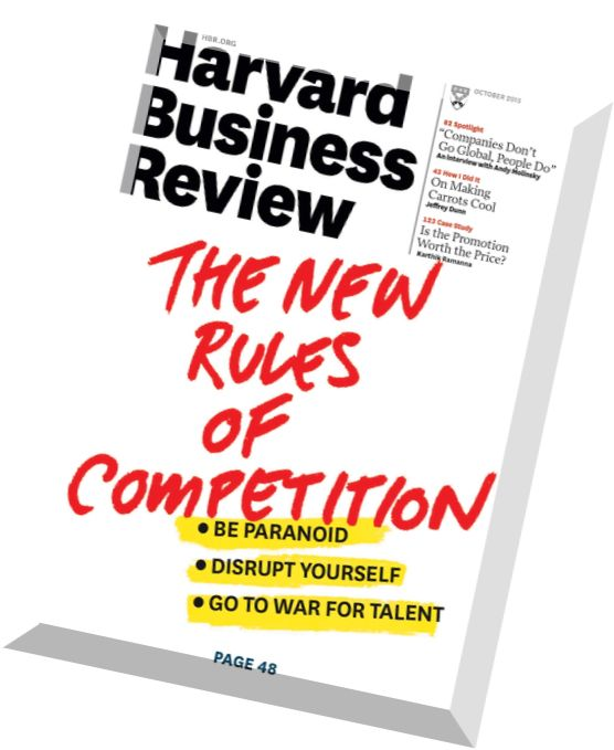 Harvard Business Review 2012