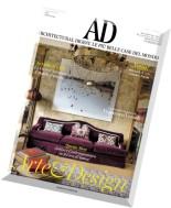 AD Architectural Digest Italia - Ottobre 2015
