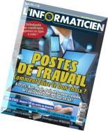L'Informaticien - Octobre 2015