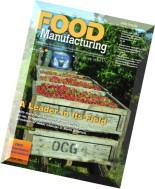 Food Manufacturing - September 2015